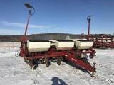 sharp White 6100 6R30 corn planter, dry fert.