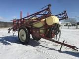 Hardi 2400 pull-type sprayer, 60' hydraulic booms