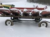 Homemade 15' header cart