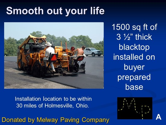 1500 sq. ft of asphalt paving within 30 miles of Holmesville