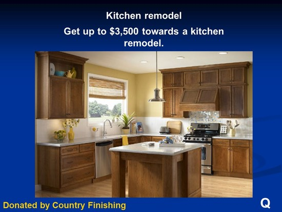 Kitchen Remodel by Country Finishing up to $3,500.00