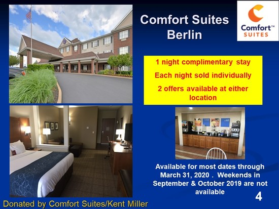 One Night Stay at Berlin Comfort Suites (choice of 2)