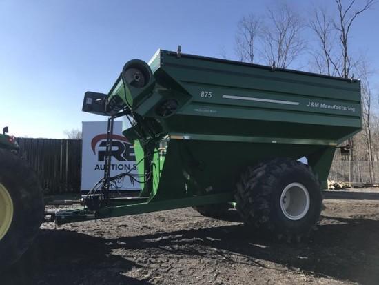 J&M 875-18 Grain Cart