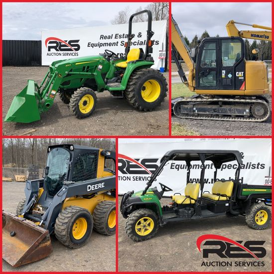 RES Equipment Yard Auction
