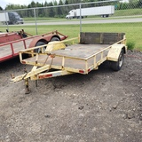 8' x 10' Single axle trailer