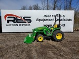 2018 John Deere 3025E Compact Utility Tractor