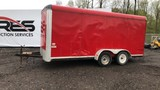 Tandem Axle Box Trailer
