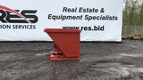 Heavy Duty 1.75 cubic yard self dumping hopper