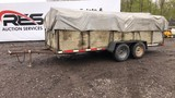 1996 Homemade 8' x 17' Tandem Axle Trailer