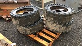 4 skid loader tires