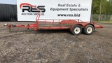 16' Tandem Axle Homemade trailer