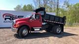 2007 Ford F750 XLT Series Dump Truck