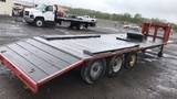 Triaxle Gooseneck Flatbed Trailer NO TITLE