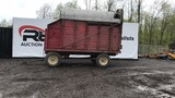 16ft silage hydraulic dump wagon