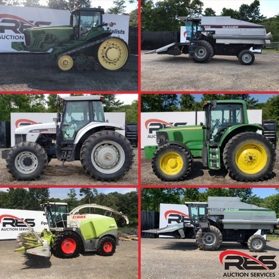 RES Equipment Yard Auction - Ag Ring