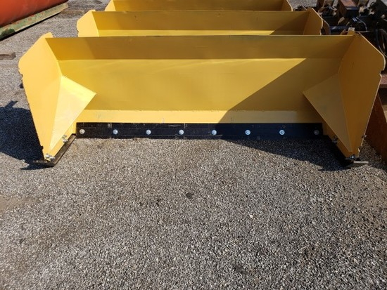 """93"""" HD Snow Pusher for Skid Steer"""