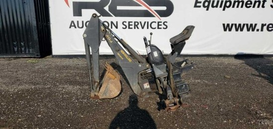 Bradco Backhoe Quick Attach for Skid Steer