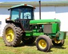 1986 JD 2950 2WD tractor w/cab approx. 12,000 hrs.