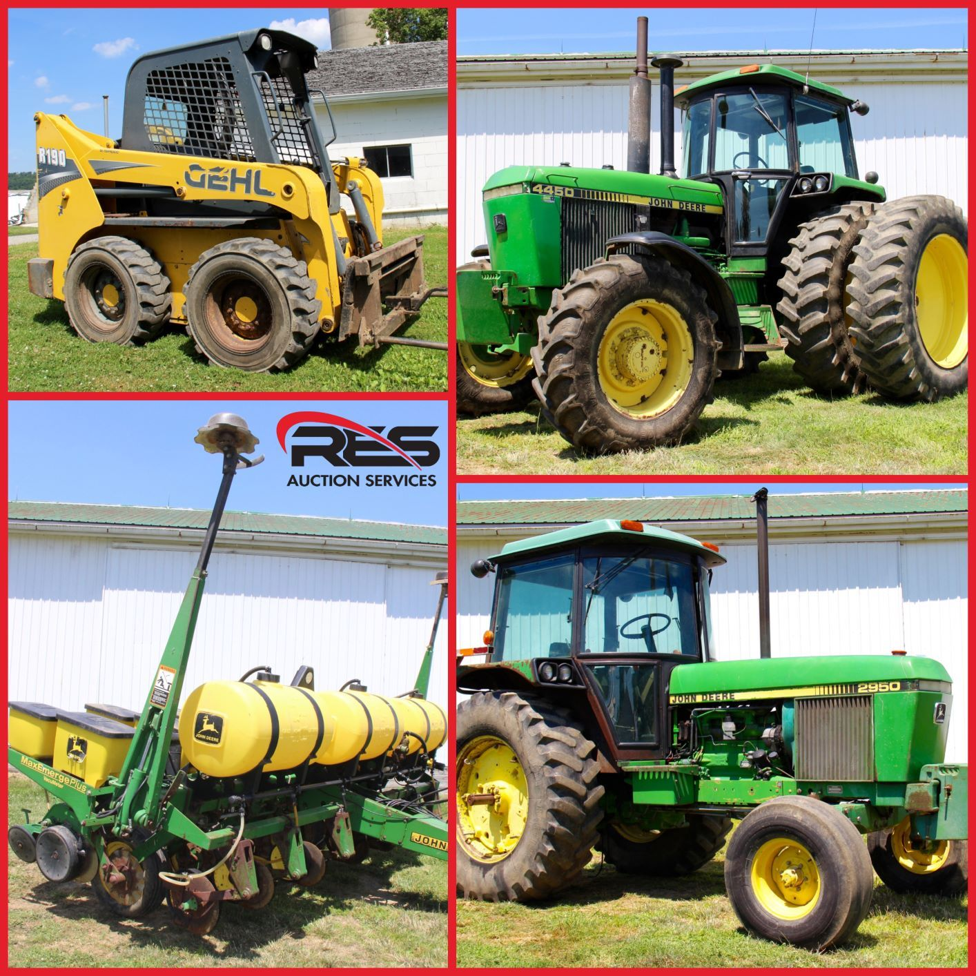 RAYGOR FARMS, LLC EQUIPMENT DISPERSAL   RES Auction Services   RES