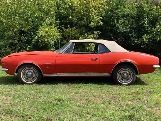 1967 Chevy Camaro Pace Car