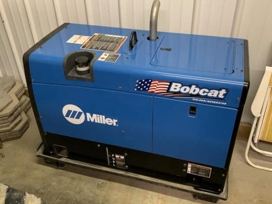 New Miller Bobcat 225 welder/generator