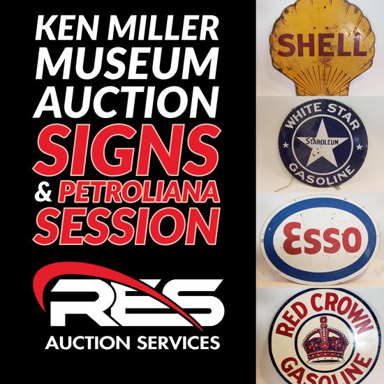 Ken Miller Museum Auction: Signs & Petroliana