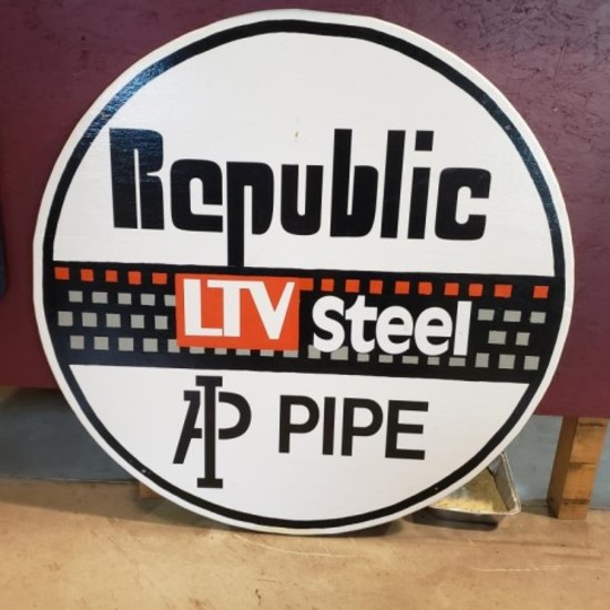 Wood Round Republic LTV