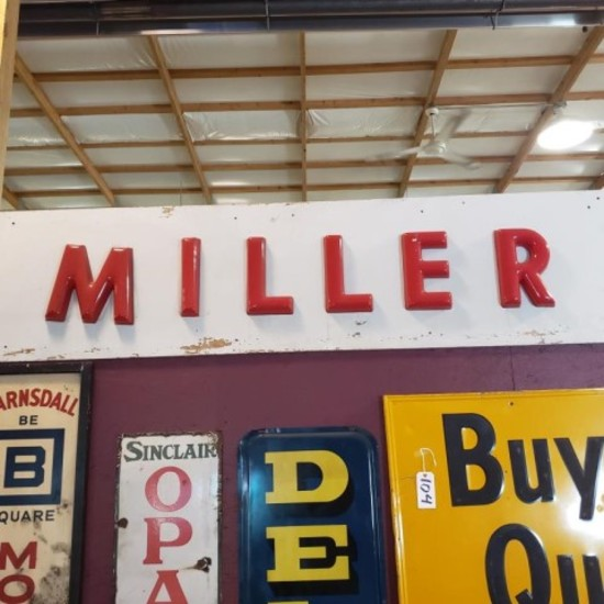 """""""Miller"""" Acrylic on Wood"""