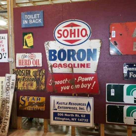 Sohio Boron Gasoline