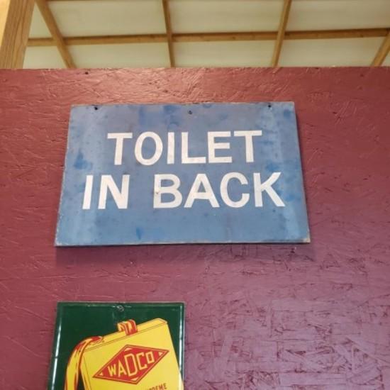 """""""Toilet in back"""""""