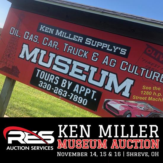 Ken Miller Museum Auction