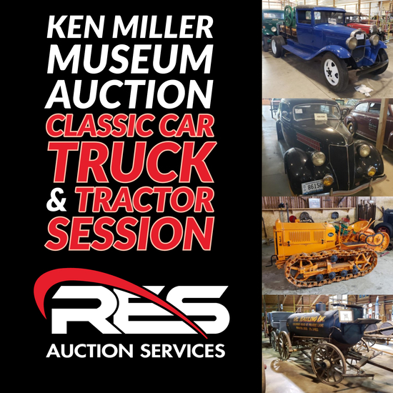 Ken Miller Museum Auction: Classic Car & Trucks
