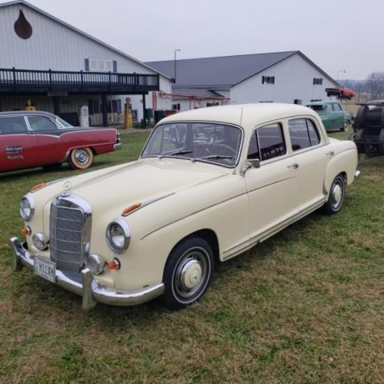 1960 Mercedes 220 S