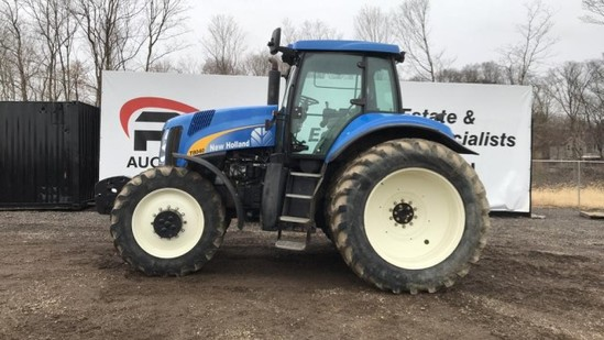 2011 New Holland T8040 Tractor
