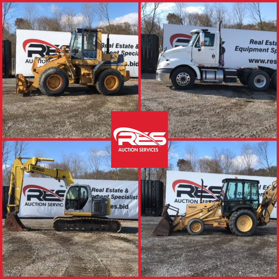 RES Equipment Yard Auction - Construction Ring