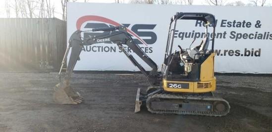 John Deere 26G Mini Excavator
