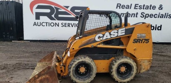 2011 Case SR175 Skid Steer