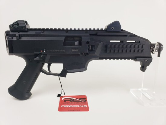 CZ Scorpion EVO 3 S1 9mm Semi-Auto Pistol