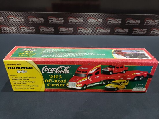 Coca-Cola 2003 Off-road Carrier-in box