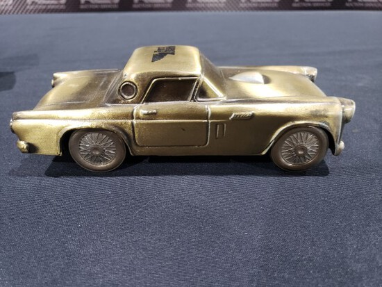 Classic Antique 1955 Ford Thunderbird bank-in box