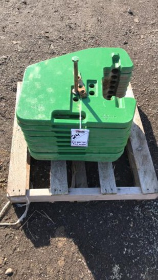 """ABSOLUTE"" (20) John Deere Front Weights"