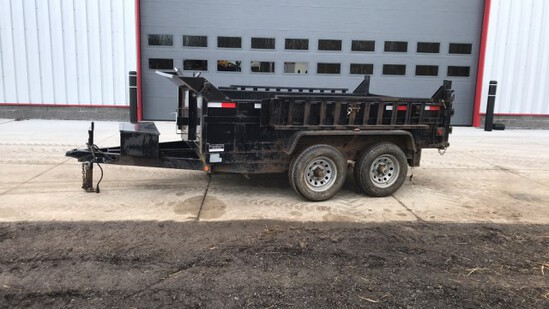 """ABSOLUTE"" 2015 Griffin 10' Dump Trailer"