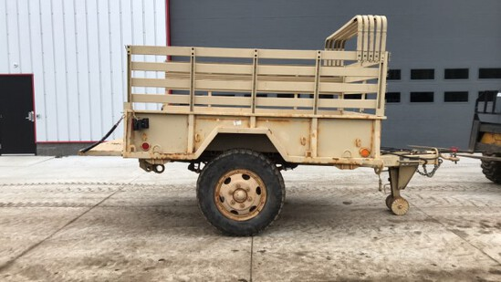 """ABSOLUTE"" 9' 1 1/2 ton Military Trailer"