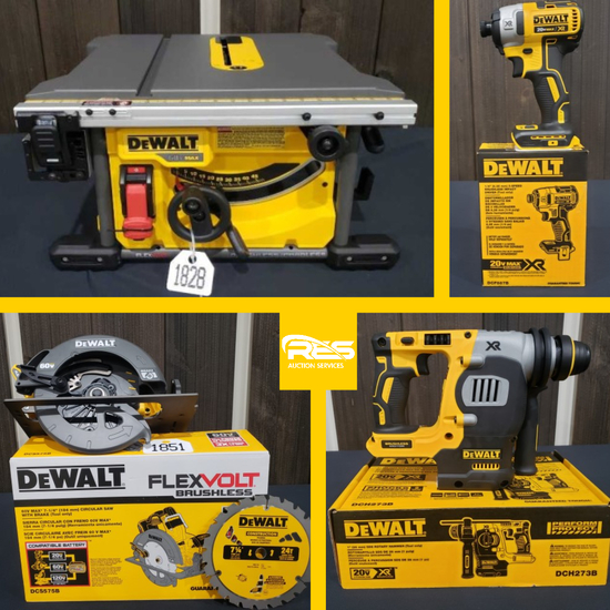 DeWALT NEW IN BOX Tool Auction