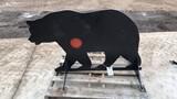 3/8 AR500 Steel Bear Shooting Target
