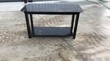Black Heavy Duty 30x57 Welding Shop Table w/ Shelf