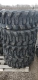 Set/ 4 New 12-16.5 Skid Steer Tires
