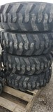 Set/ 4 New 12-16.5 Tires/Wheels for NH/JD/CAT