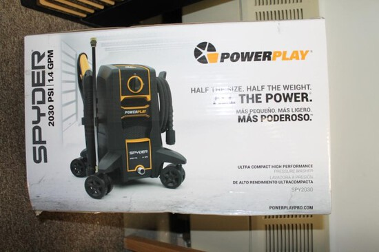 Spyder 2030 PSI 1.4 Grn Electric Power Washer