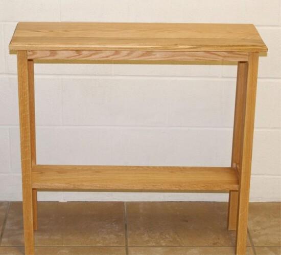 Oak Sofa Stand